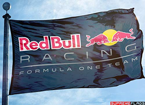 Brand New Red Bull Racing Flag (90 x 150 cm) Banner Formula One Team Flagge -