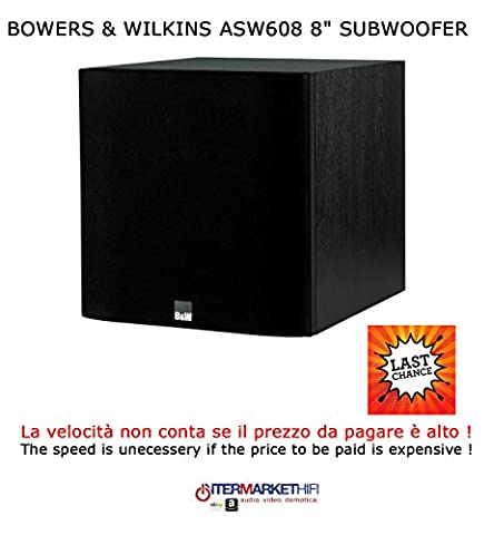 'Bowers & Wilkins ASW6088Subwoofer Black