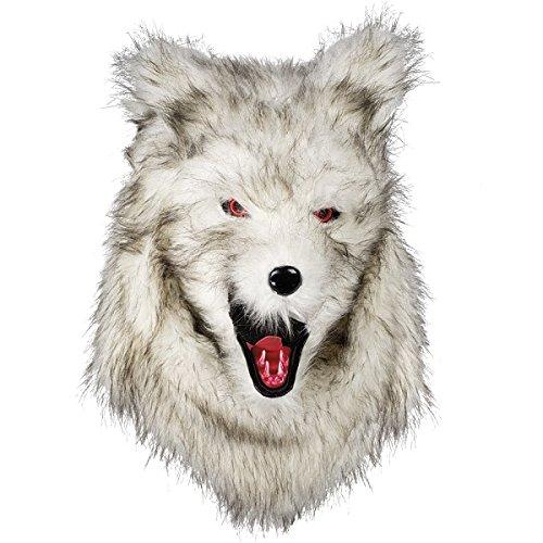 Werwolf Maske Deluxe Tiermaske Hund Wolf