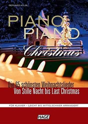 Piano Piano Christmas – Weihnachtslieder für Klavier