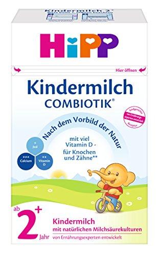 Hipp Kindermilch Combiotik ab 2 Jahre, 1er Pack (1 x 600g)