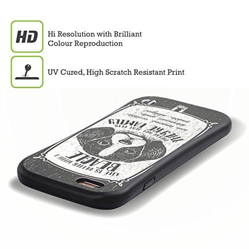 Head Case Designs Corgi Races De Chien Dessinées À La Main Étui Coque Hybride pour Apple iPhone 6 / 6s Chien Courant