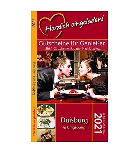 Herzlich eingeladen! DUISBURG - Gutscheinbuch (gültig bis 28.02.2021)