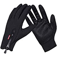 COTOP Guantes de Invierno , guantes de pantalla táctil a prueba de viento al aire libre para ciclismo caza escalada jardinería camping y otros deportes al aire libre