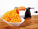 Vegetable Spiralizer Machine with 3 Blades (all Stainless Steel) for Vegetable Spaghetti
