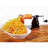 ICO Vegetal Spiralizer- Cortador de verduras (aluminio)