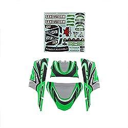 Redcat Racing Lexan Body Panels Green