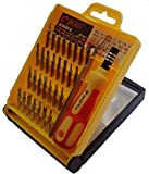 Set cacciaviti di precisione, confezione da 32 pezzi per telefono/ordinateur..