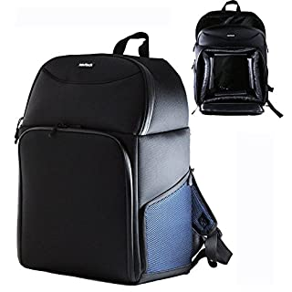 Navitech robusten schwarzen Tragerucksack / Rucksack / Tasche für Panasonic AJ-PX270EJ AVC-Ultra Professional Camcorder / Camcorder