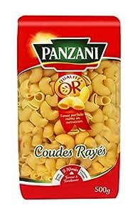 Panzani Pâtes Coudes Rayés 500 g