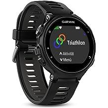 Garmin Forerunner 735XT - Reloj multisport con GPS, tecnología pulsómetro integrado, unisex, color negro y gris