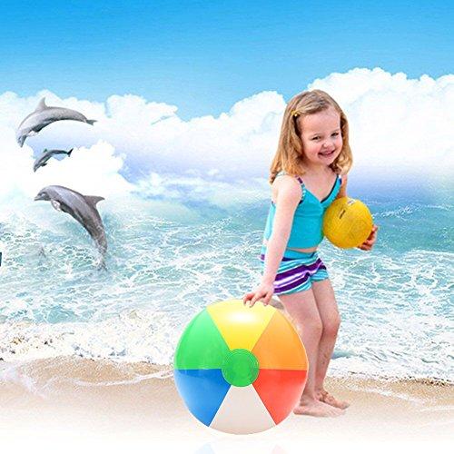 Etbotu Figur Modell 1 ST¨¹Cke 20 cm Regenbogen Farbe Aufblasbare Wasserball Kinderball Wasserball Geburtstag Neujahr Weihnachten Halloween Geschenk Spielzeug