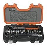 Bahco S140T Durchsteck-Steckschlüsselgarnitur
