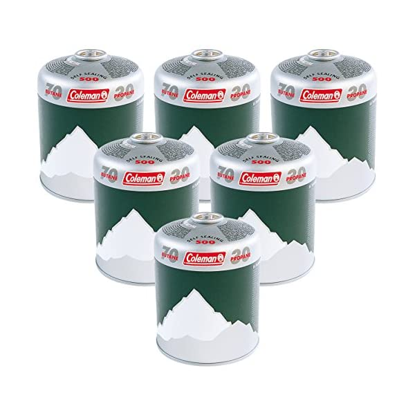 Coleman Extra Value 6 x C500 Gas Cartridge (Pack of 6) 1