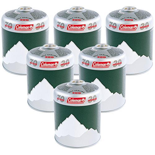 Coleman Extra Value 6 x C500 Gas Cartridge - Pack of 6