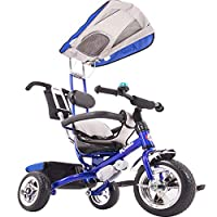 Kiddo Smart Design 4-in-1 Childrens Tricycle Kids Trike 3 Wheel Bike Parent - New