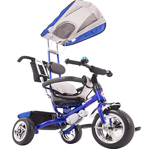 Kiddo - Tricycle Smart Design 4 en 1 pour Enfant - Bleu...