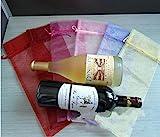 iiou 20Wein Dünn Transparent Flasche Wrap Geschenk