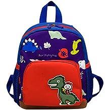 Mochila Dinosaurio Infantil, Animal Bolsa de escuela para Primaria Niño Niña