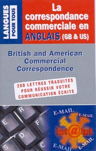Coffret correspondance commerciale en anglais