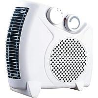 TENCO TH311 - Calefactor eléctrico 2000W, Posición Horizontal o Vertical, Termostato Regulable, ...