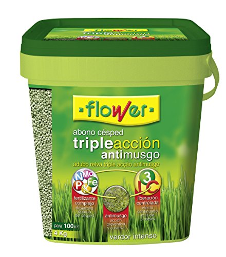 flower-10733-abono-cesped-triple-accion-anti-musgo-4-kg
