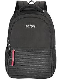 Safari 27 Ltrs Black Casual Backpack (Split)