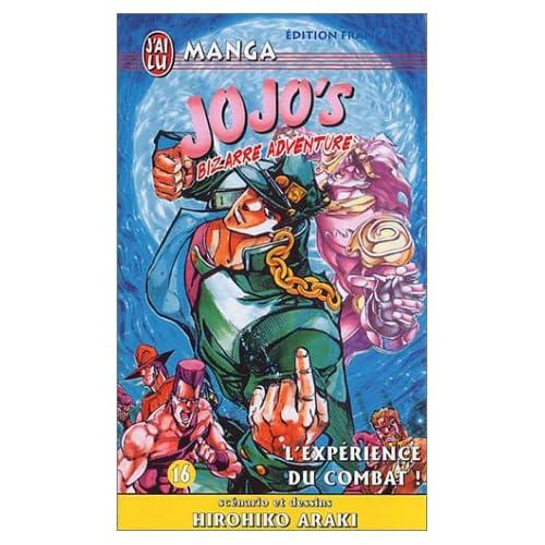 Jojo's bizarre adventure, tome 16 : L'Expérience du combat !