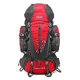 ZhongYi Sports de Plein air 80L Grande capacité Professionnelle Alpinisme Sac à Dos en Nylon imperméable randonnée Sac à Dos