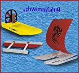 Kaleas Laubsägevorlage 3 Modelle Katamaran/Sumpfboot/Auslegerboot