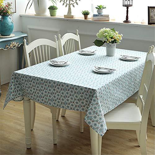 WANGCAN Abwaschbar Tischdecke Tischtuch mit pflegeleicht Fleckschutz, Rechteckig, Farbe & Größe wählbar,Persönlichkeit Tischdecke C-1 90 * 90cm