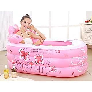 XX Badewannen-aufblasbare Wanne verdickte Erwachsene Wanne/faltende Wanne/Kinder 'S Badewanne/Badewanne/Plastikbadewanne,130 * 75 * 70 cm