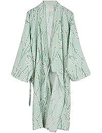 Fancy Pumpkin Japanische Frauen Robe Baumwolle Morgenmantel Kimono Pyjamas Nachthemd [Größe L]