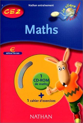 Maths CE2, cahier d'exercices (1 CD-Rom inclus)