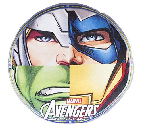 helkissen Plüsch Kissen 35x35 Plüschkissen HULK THOR IRONMAN CAPTAIN AMERICA (Captain America-dekor)