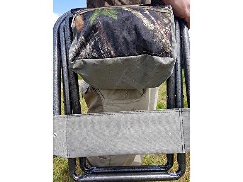 Sutter sedia portatile pieghevole con borsa da 5 litri da campeggio
