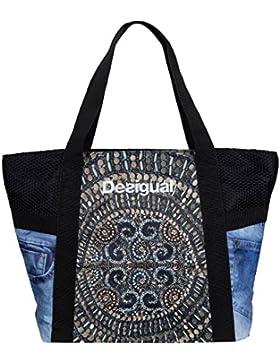 DESIGUAL BOLS L SHOPPING BAG Y Shopper Schultertasche Sporttasche 71X5SA3/6050