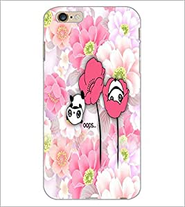 PrintDhaba Cartoon D-5046 Back Case Cover for APPLE IPHONE 6 (Multi-Coloured)