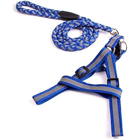 SymbolLife Puppy Chew Toy Dog Bone Toy Buona S Blu