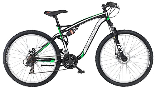 GIANNI BUGNO BICICLETA FULL SUSPENSION NEGRO / BLANCO / VERDE