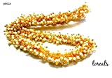 #5: Loreals, Pearl Loreals for Jewellery Making for Earring, Necklace and Bracelet in White