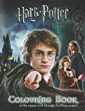 Harry Potter and the Goblet of Fire: Colouring Book with Cards