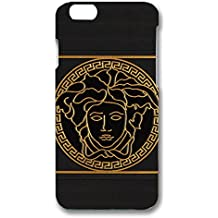Classical Versace Logo Design Phone Case 3D Hard Plastic Case Cover For Iphone 6 Plus & Iphone 6S Plus Versace Logo Design