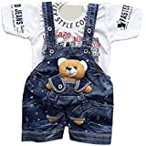 Tendercare Baby boy & Baby Girl Teddy Bear Dungaree Set with Tshirt 0-1 Year || Baby Boy Dresses for 0-6 Months || Clothes fo