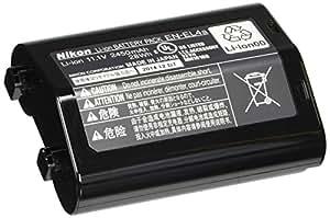 Nikon EN-EL4A Lithium-Ionen Akku (2450 mAh) für D3/D3x/MB-D10/PDK-1