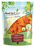 Food to Live Papaya seca Bio certificada sin azúcar (Eco, Ecológico, sin OMG, Kosher) - 2 libras