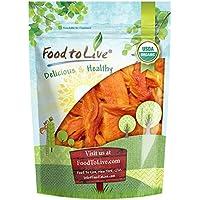 Food to Live Papaya seca Bio certificada sin azúcar (Eco, Ecológico, sin OMG, Kosher) 453 gramos
