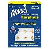 Mack tappi per le orecchie dei bambini, bianco, taglia unica