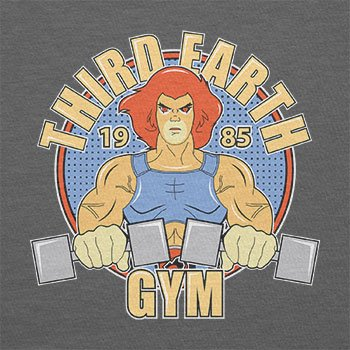 NERDO - Third Earth Gym - Herren T-Shirt Grau