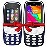I KALL K3310 (Dark Blue) And K35(Dark Blue) Combo Of Dual Sim Mobile With 101 Days Replacement Warranty With 1 Year Manufacturer Warranty